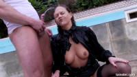 Intense Pissing On Bossy Slut
