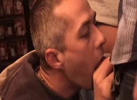 Feed The Fag 40 Loads - gay gangbang talking picture!