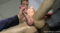 EastBoys — Thomas Fiaty and his Casting — Handjob part 1 - Thomas Fiaty