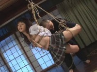 Chastisement Torture japanese school girls