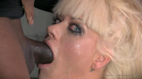 Holly Heart Destroyed With Epic Drooling Deepthroat!