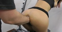Sexy Jo In Most Amazing Fisting At The Gym