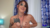 Sexy Lena Jade Jacks Off And Cums!