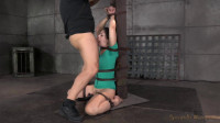 SexuallyBroken - Sep 22, 2014 - Sexy Sarah Shevon belted down and throatboarded