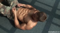 Pumping Muscle - Nick T Photoshoot