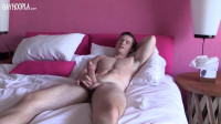 Aiden Jerks His Big Thick Cock