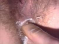 Plowing hairy holes