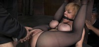 Multiple Squirting Orgasms, Flexible Big Breasted Darling Destroyed!