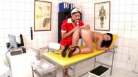 Nasty Nurse Examining Lesbian Girl's Ass