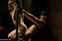 Kink: Bound Gods - Spencer Reed, Van Darkholme, Jason Miller, Jeof Pierson, Master Avery - Post Orgasm Torment - Live Shoot