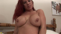 big ass redhead mature slut loves to show ass in front of camera