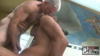Hot Older Male — A Shave and a Shower — Dane Caroggio, Paul Barbaro