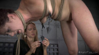 Redheaded Rope Slut Cici Rhodes Gets Tied Up And DPed