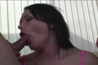 Mature babe gets threesomed