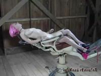 InfernalRestraints Cherry Chair featuring Cherrytorn