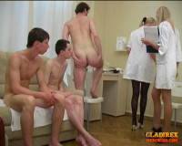 VIP Collection Crazy Female Doctors Medical , Examinations Russian Guys . — 31 clips.