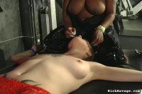 Rick Savage - Girls Of Pain 7 Mistress Ruby Diciplines Slave 71