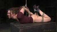 Sexy girl next door Jodi Taylor in a brutal hogtie