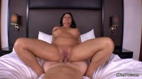 Curvy cougar GILF swinger does first porn — E311