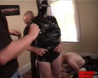 SI — Zoie In Heavy Rubber Strait Jacket