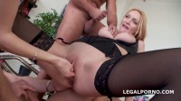 Double Anal Battle Belle Claire And Timea Bella finally together getting 2 cocks ass (2016)