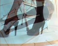 Sexy nylon and heels