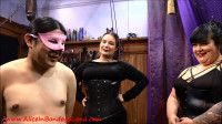 Sissy Joy Clothing Exchange Fashion Show Foursome — Mistress Vyra and Mistress Sofia