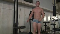 PumpingMuscle - Travis H Photo Shoot Scene 2