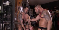 Martin And Max In Torture Store