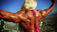 The bulging female muscle queen Brigita
