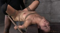 Asian fucktoy Marica Hase used hard in tight bondage