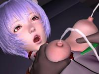 Plug suit Rei 3D