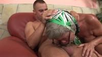 Big boobed granny gets fucked hard
