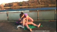 Lucie V - Tennisball seduction