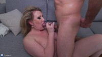 Irina (46) — Horny Housewife Fucking and Sucking.
