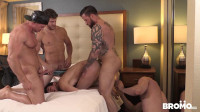 Raw Tension Part 4 - tight ass, blow, stud, inside, large