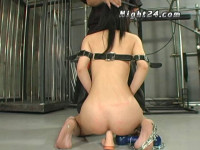 Asian Slut In Brutal Bondage
