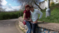 Incredible Chelsey Seduces a Sranger In A Park HD
