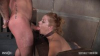 Hot Blonde with big tits is dicked down