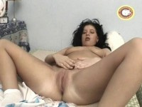 Live sex with the brunette