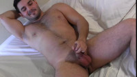 Leonardo Jerks Off (480p) - handsome, uncut cock, camera.