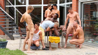 We do this orgy for pleasure
