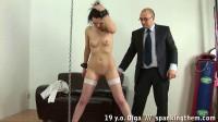 Lazy Student Gets Spanking Olga Spanking Them