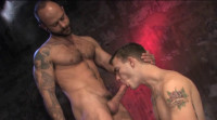 Muscle & Ink - muscle men, anal sex, man sex.