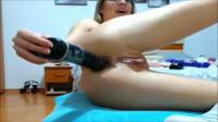 Ella Webcam Big Anal Dildo (2016)