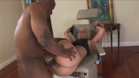Big fat black cock and tight white wet pussy