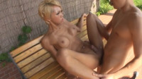 Black Transsexual Fucking Exposed Outdoors