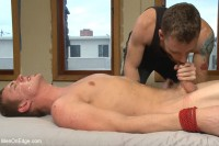 Hung southern stud shoots a hot load in his mouth