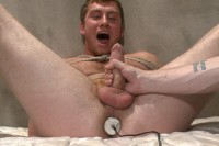 Officer Maguire edged and gets an electric buttplug for the first time.