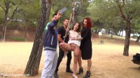 Perky Teen Alexa Nasha is Fucked in front of a Chanting Crowd — Part 2